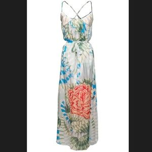 Thakoon Addition 100% Silk Maxi Dress
